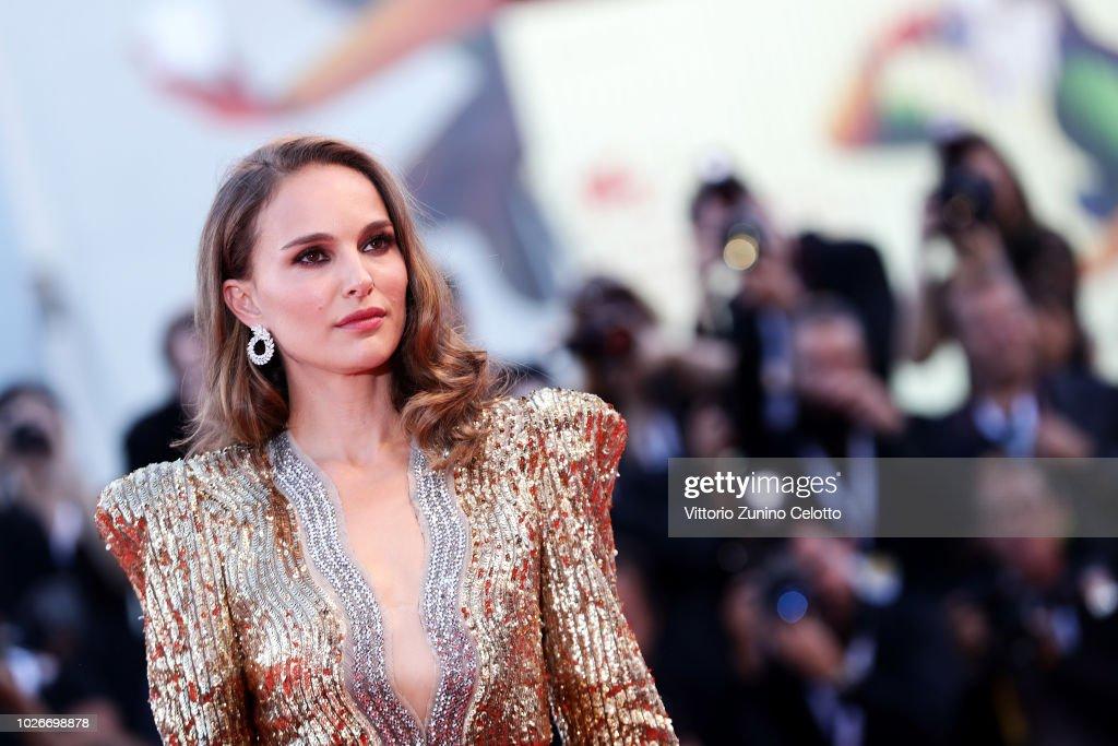 Vox Lux Red Carpet Arrivals - 75th Venice Film Festival : Foto jornalística