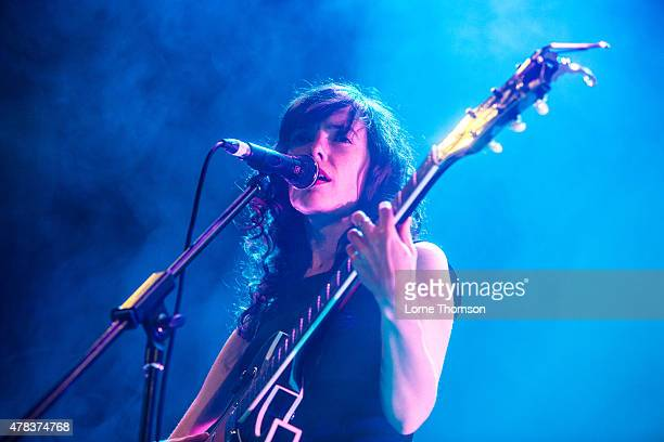 Natalie Prass performs at Islington Assembly Hall on June 24 2015 in London United Kingdom