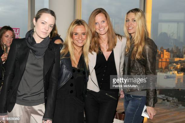 Natalie Rawling Emese Szenasy Jordan Daly Webb and Melanie Fisher attend PEOPLE STYLEWATCH Hosts Cocktail Reception for New Fashion Director KATE...