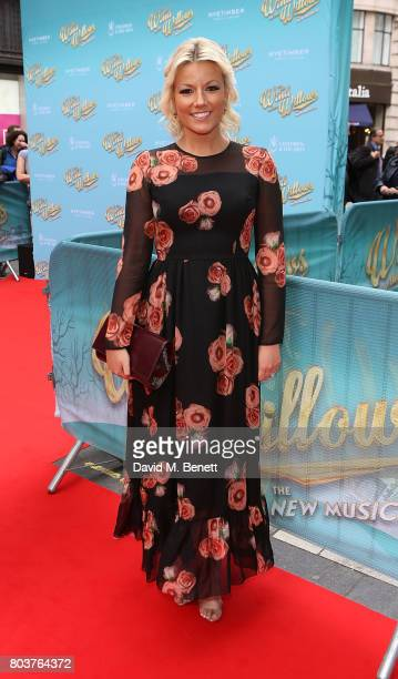 Natalie Rushdie attends the press night performance of 'The Wind In The Willows' at the London Palladium on June 29 2017 in London England