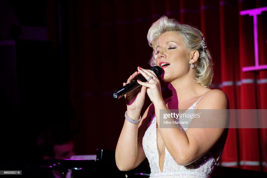 Natalie Rusdie Performs At Brasserie Zedel
