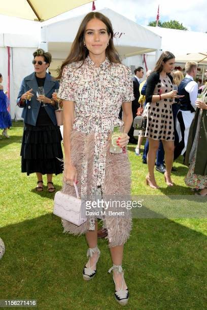 Natalie Salmon attends The Cartier Queen's Cup Polo Final 2019 on June 16 2019 in Windsor England