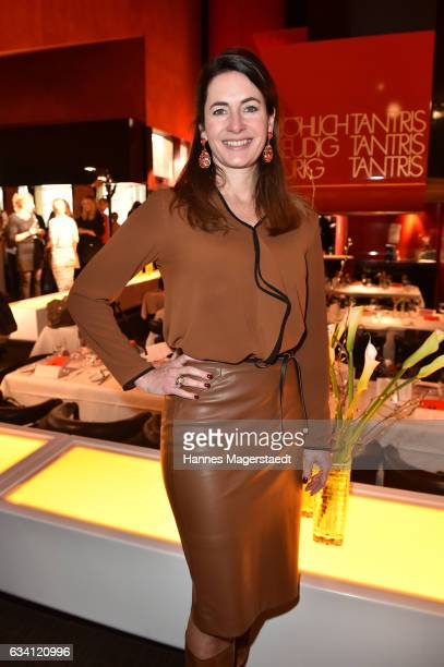 Natalie Schmid during the 'DKMS Life Charity Ladies Lunch' at Tantris Restaurant on February 7 2017 in Munich Germany