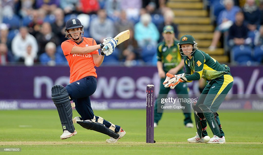 England Women v Australia Women: Women's Ashes Series - 3rd NatWest T20 : News Photo