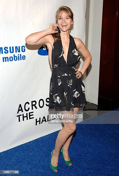 Natalie Smyka during Samsung and First Look Studios Presents Across The Hall Premiere Screening and Party at Samsung Experience at The Time Warner...