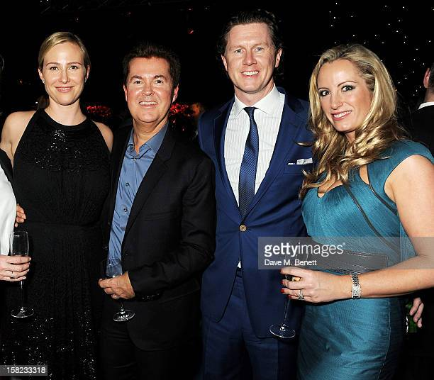 Natalie Swanston Siimon Fuller Steve McManaman and Victoria Edwards attend an after party celebrating the Gala Press Night performance of 'Viva...