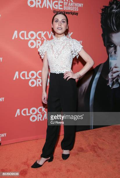 Natalie Walker attends the OffBroadway opening night of 'A Clockwork Orange' at New World Stages on September 25 2017 in New York City