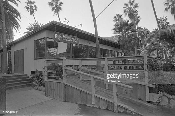 Natalie Wood and her husband Robert Wagner had dinner here at Doug's Harbor Reef and Saloon at the Isthmus Cove in Catalina Saturday night Later...