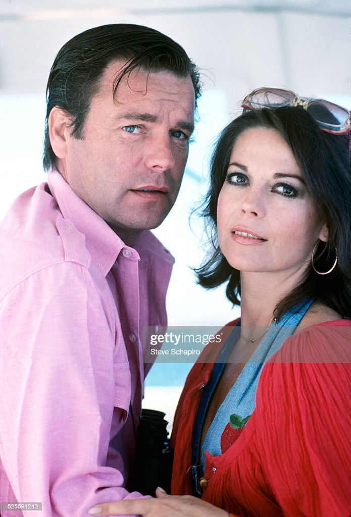 Natalie Wood and Robert Wagner on their yacht The Splendour