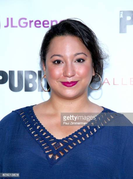 Natalie WoolamsTorre attend 'A Midsummer Night's Dream' Opening Night at Delacorte Theater on July 31 2017 in New York City