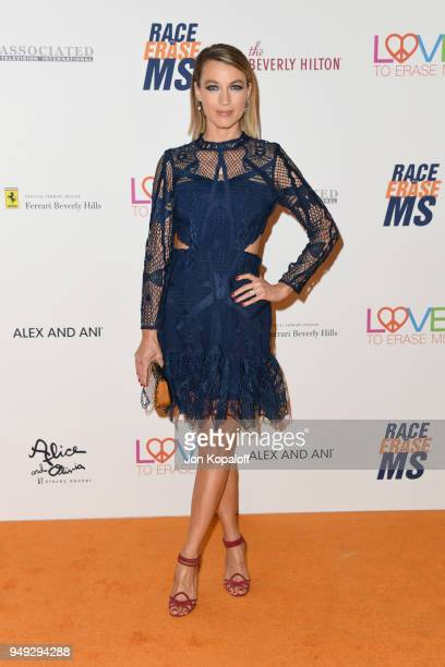 Natalie Zea attends the 25th Annual Race To Erase MS Gala at The Beverly Hilton Hotel on April 20 2018 in Beverly Hills California