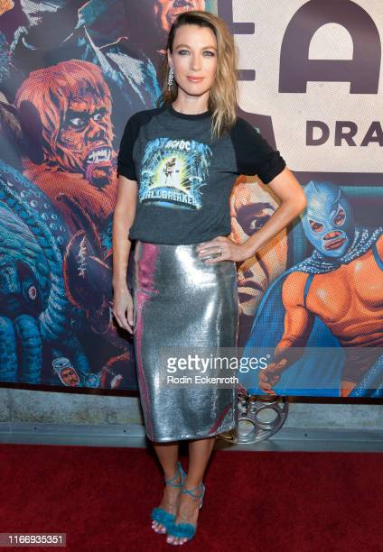 Natalie Zea attends the Alamo Drafthouse Los Angeles Big Bash Party at Alamo Drafthouse Cinema on August 08 2019 in Los Angeles California