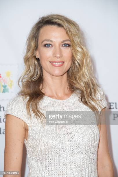Natalie Zea attends The Elizabeth Glaser Pediatric AIDS Foundation's 28th Annual 'A Time For Heroes' Family Festival at Smashbox Studios on October...