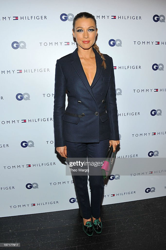 Natalie Zea attends the Tommy Hilfiger & GQ celebrate Men of New York at the 5th Avenue Flagship on November 29, 2012 in New York City.