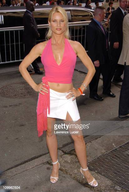 Natalie Zea during ABC 2004/2005 Primetime Upfront Arrivals at Cipriani's in New York City New York United States