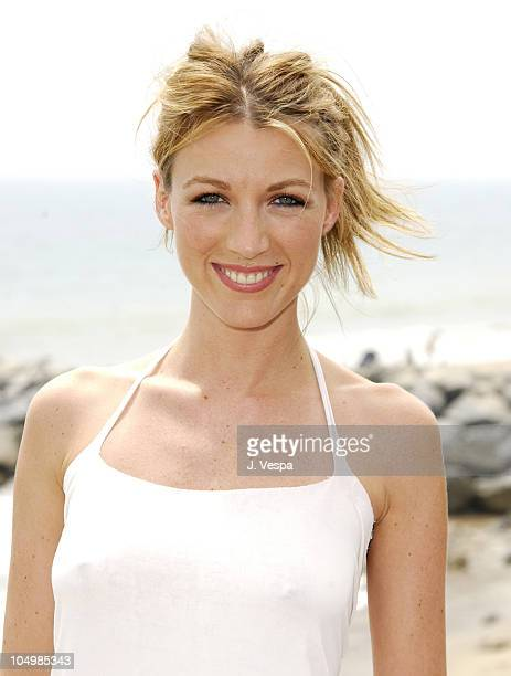 Natalie Zea during Movieline 'Beauty on the Beach' Party at Gladstone's Malibu in Malibu California United States