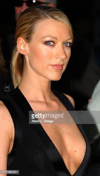 Natalie Zea during Wicker Park Los Angeles World Premiere Red Carpet at The Egyptian Theater in Hollywood CA United States
