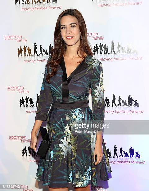 Natalie Zfat attends Moving Families Forward 2016 Gala Benefiting Ackerman Institute for the Family at The Waldorf=Astoria on October 24, 2016 in New...
