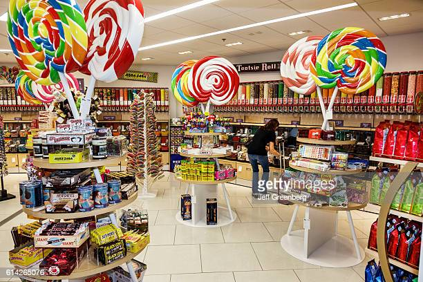 Natalie's Candy Jar store in LambertSt Louis International Airport