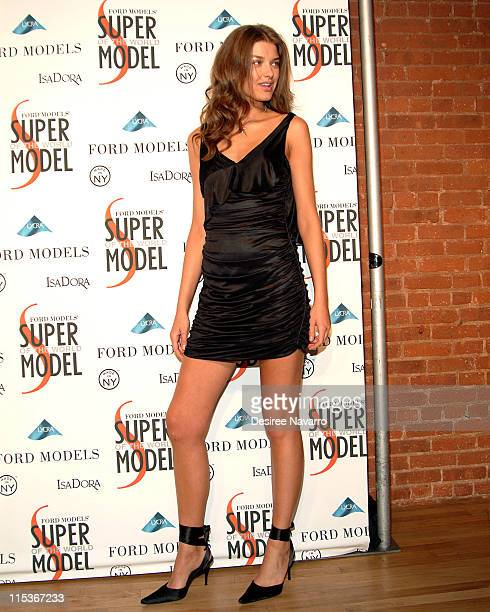 Nataliya Gotsky during Ford Models' Supermodel of the World Contest Arrivals at The Ford Tunnel in New York City New York United States
