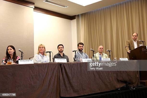Natalka Dudynsky of ICM Partners Gayle Holcomb of WME Jon Romero of Vector Management Joe Rosenberg of AM Only Rick Whetsel of G7 Entertainment...