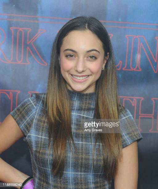 Natallie Sigler attends Tarik Ellinger's 16th Birthday Party In The Upside Down at Starwest Studios on December 13 2019 in Burbank California