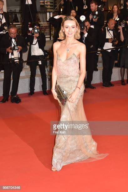 Nataly Osmann attends the screening of 'Leto' during the 71st annual Cannes Film Festival at Palais des Festivals on May 9 2018 in Cannes France