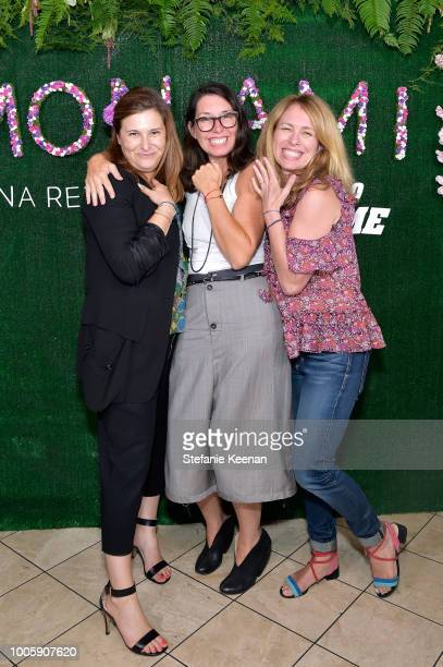 Natalya Hudis Paula Kupfer and Kristen Newman attend Adina Reyter Friendship Bracelet Launch at Soho House on July 26 2018 in West Hollywood...