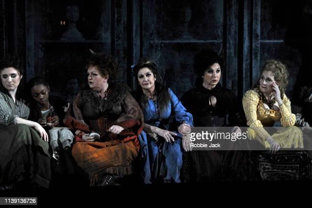 Natalya Romaniw as Mary Kelly Actor Susan Bullock as Liz Stride Marie McLaughlin as Annie Chapman Lesley Garrett as Catherine Eddowes and Janis Kelly...