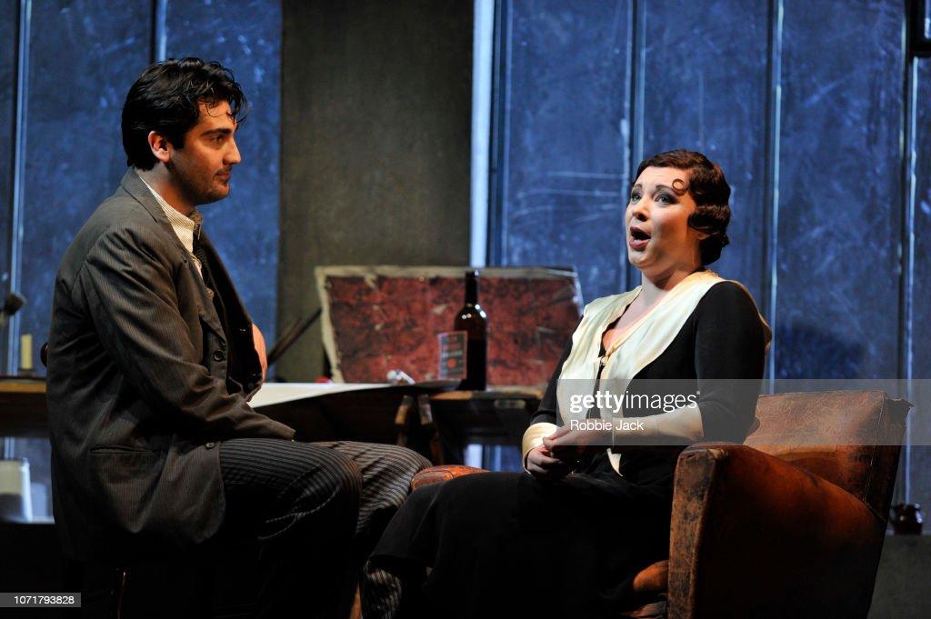 ENO's Production Of 'La Boheme' At The London Coliseum : News Photo