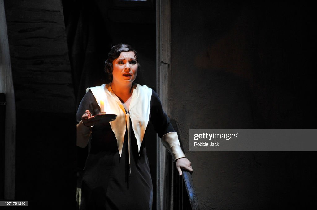 ENO's Production Of 'La Boheme' At The London Coliseum : News Photo