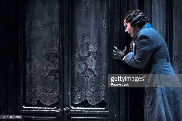 Natalya Romaniw as Mimi in English National Opera's production of Giacomo Puccini's La boheme directed by Jonathan Miller and conducted by Alexander...