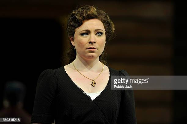 Natalya Romaniw as Tatyana in Garsington Opera's production of Pyotr Ilyich Tchaikovsky's Eugene Onegin directed by Michael Boyd and conducted by...