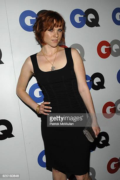 Natalya Rudakova attends GQ 2008 Men Of The Year Party at Chateau Marmont Hotel on November 18 2008 in Los Angeles CA