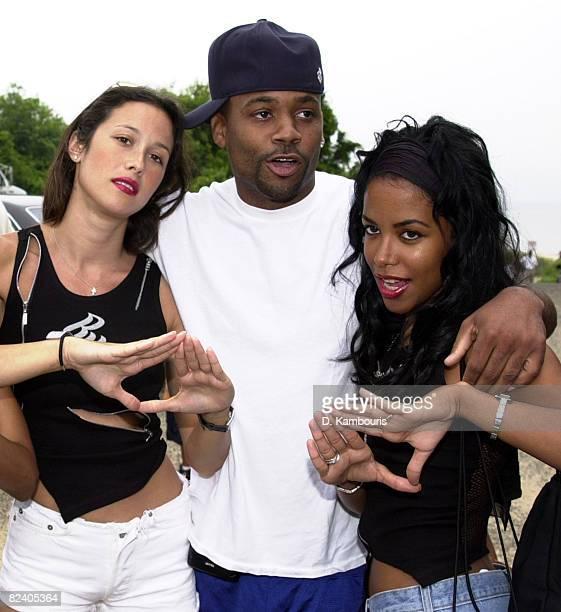 Natane Adcock Damon Dash and Aaliyah