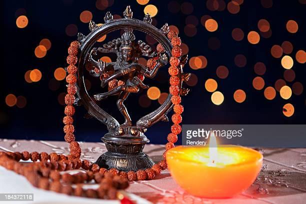 nataraja hinduism symbol - shiva stock pictures, royalty-free photos & images