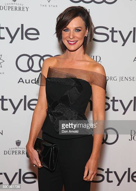 Natarsha Belling arrives ahead InStyle and Audi Women of Style Awards at The Star on May 12 2016 in Sydney Australia