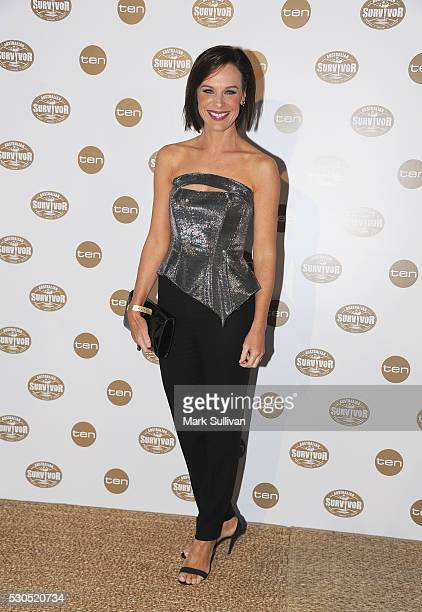 Natarsha Belling arrives ahead of the Australian Survivor Launch Party on May 11 2016 in Sydney Australia
