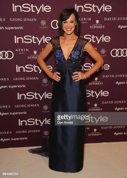 Natarsha Belling arrives ahead of the Women of Style Awards at The Star on May 17 2017 in Sydney Australia