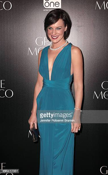 Natarsha Belling arrives at the Australian premiere of 'Grace of Monaco' at Dendy Opera Quays on June 3 2014 in Sydney Australia