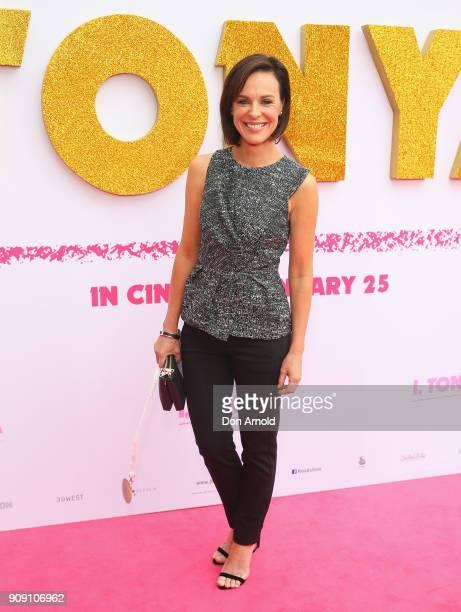 Natarsha Belling arrives at the Australian Premiere of 'I Tonya' on January 23 2018 in Sydney Australia