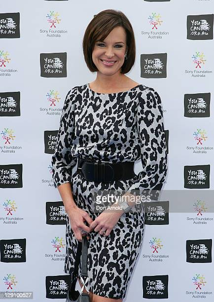 Natarsha Belling arrives at the Wharf4Ward cancer fundraiser on October 13 2011 in Sydney Australia