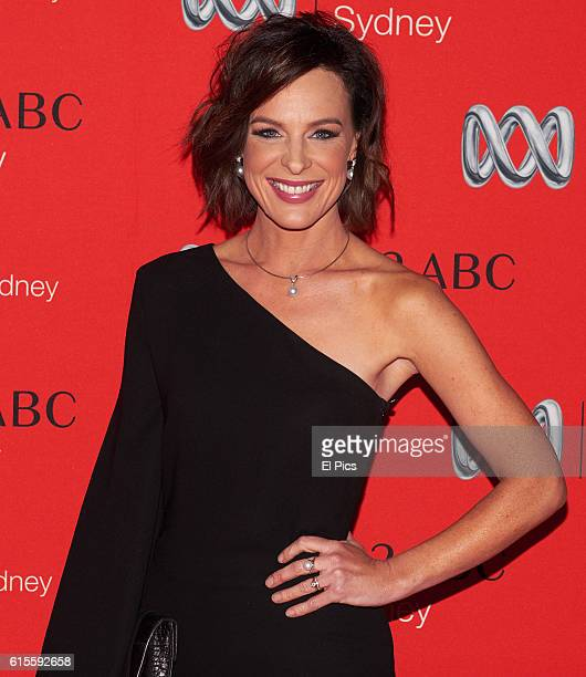 Natarsha Belling attends the 2016 Andrew Olle Media Lecture on October 14 2016 in Sydney Australia