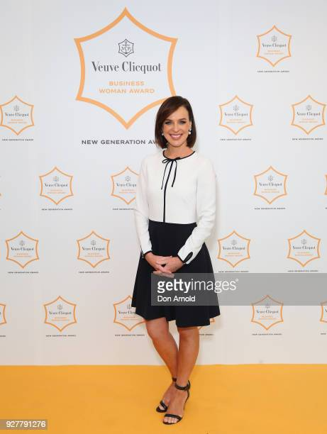 Natarsha Belling attends the Veuve Clicquot New Generation Award on March 6 2018 in Sydney Australia