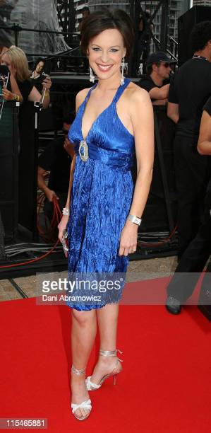 Natarsha Belling during ''Australian Idol'' Grand Final November 26 2006 at Sydney Opera House in Sydney NSW Australia
