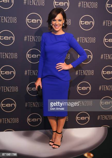Natarsha Belling poses during the Network Ten 2018 Upfronts on November 9 2017 in Sydney Australia