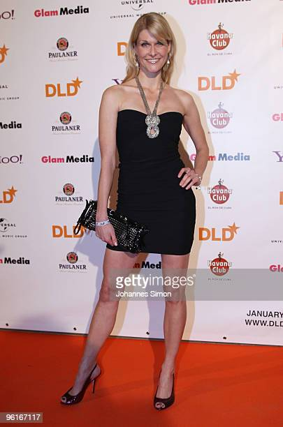 Natascha Gruen arrives for the DLD Starnight at Haus der Kunst on January 25 2010 in Munich Germany