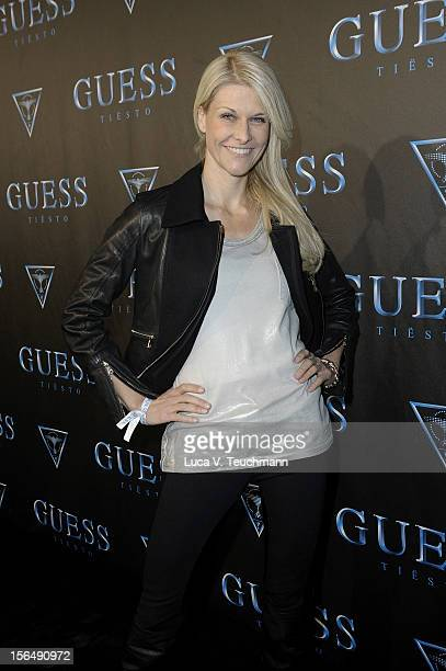 Natascha Gruen attends 'Guess Presents Tiesto' at P1 on November 15 2012 in Munich Germany