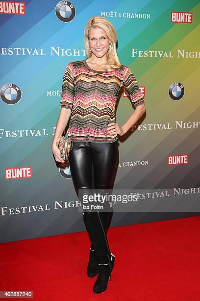 Natascha Gruen attends the Bunte BMW Festival Night 2015 on February 06 2015 in Berlin Germany