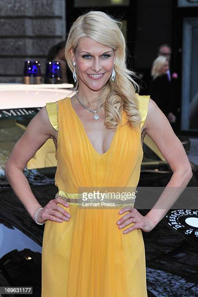 Natascha Gruen attends the Dressvegas Party at Heart Private Club on May 29 2013 in Munich Germany
